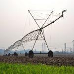 Pivô Central de irrigação