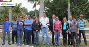 Giancarlo Magalhães, coordenador dos cursos de Reprodução Bovina completou neste fim de agosto o 500º curso ministrado pelo CPT Cursos Presenciais.