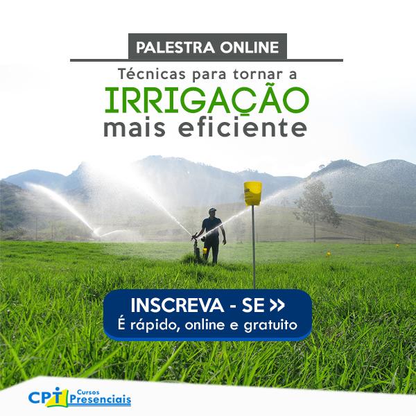 Webinar Irrigação mais eficiente