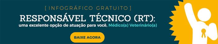 Infográfico - Responsável Técnico (RT) Veterinário, conheça melhor esta excelente profissão.