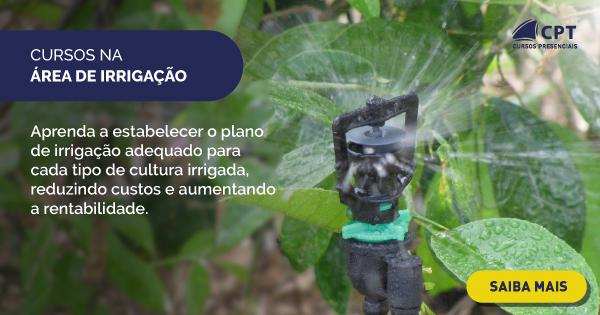 cursos na área de irrigação