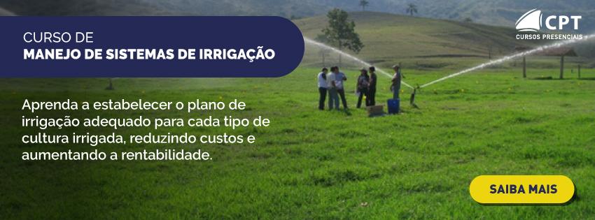 Curso de manejo de sistema de irrigação