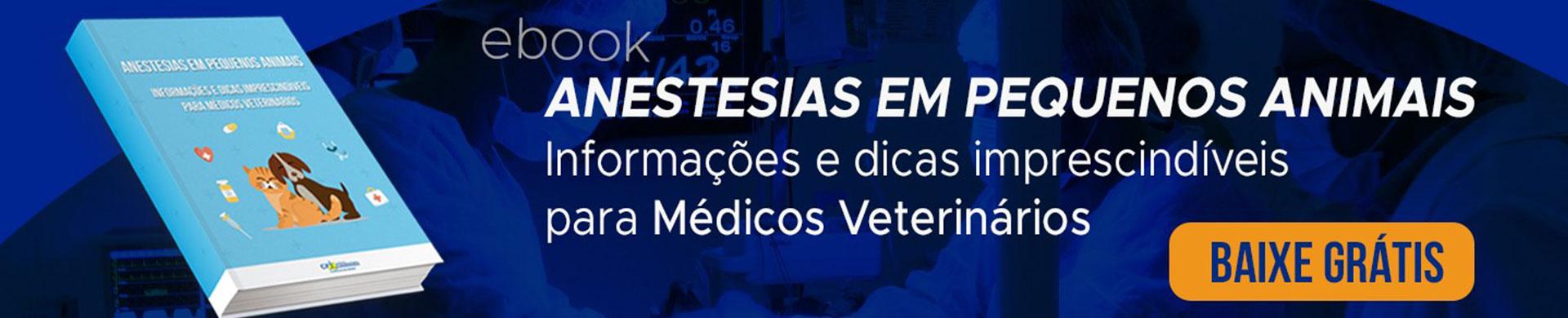 Ebook Anestesias em Pequenos Animais