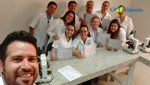 01º Curso de Realização e Interpretação de Exames Laboratoriais Parasitológicos de Pele e Fezes, Derramos Cavitários, uroanálises e Citologia 05-02-17