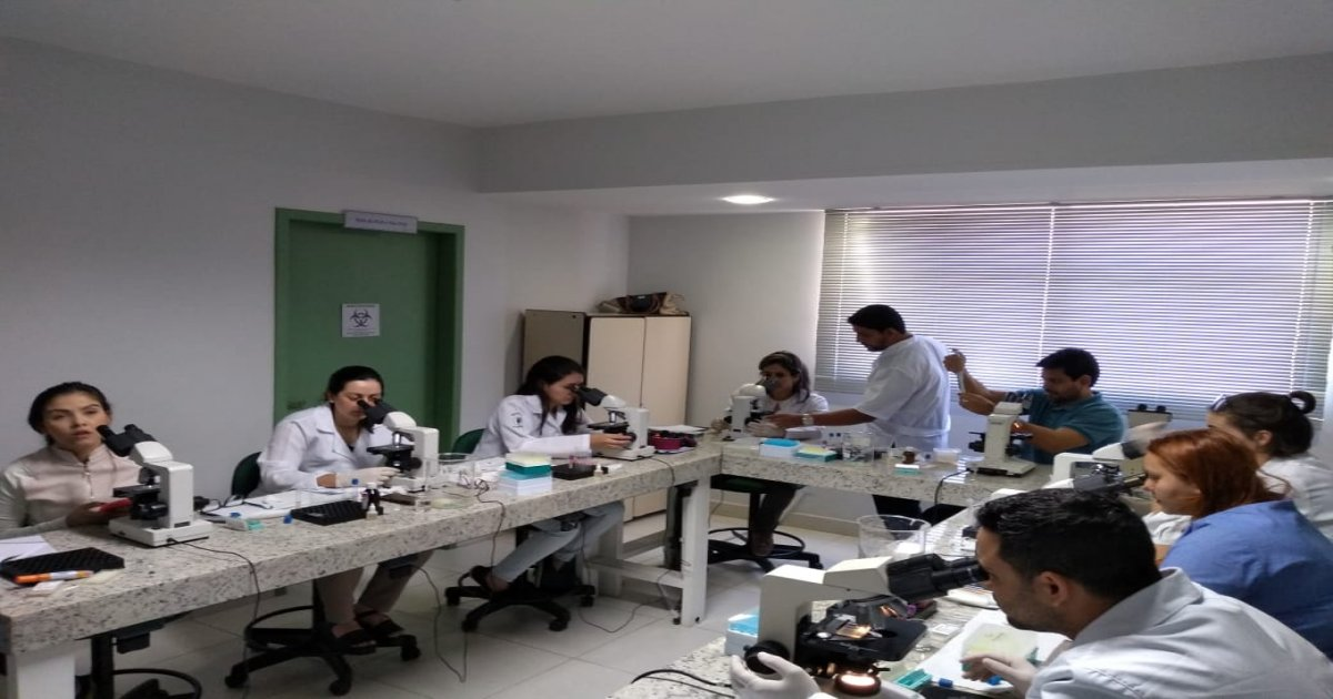 07º Curso de Realização e Interpretação de Exames Laboratoriais Parasitológicos de Pele e Fezes, Uroanálises e Citologias básicas 07-11-19