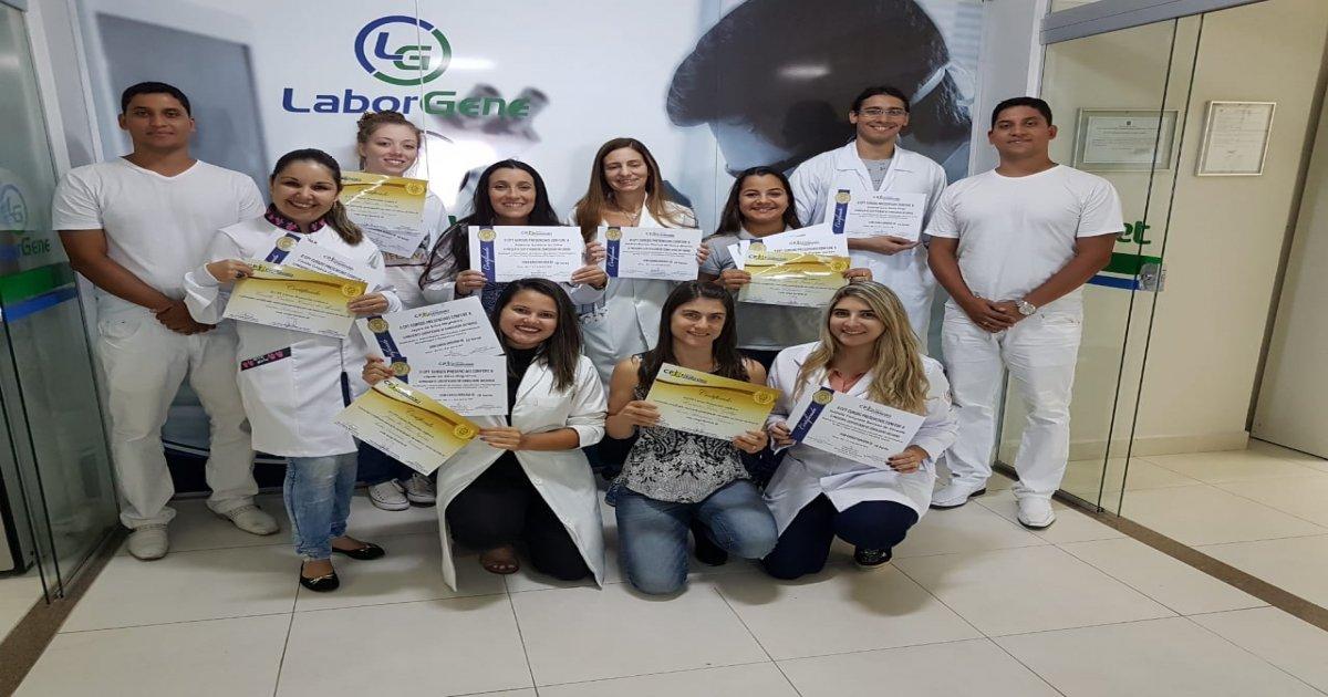 10° Curso de Realização e Interpretação de Exames Laboratoriais Parasitológicos de Pele e Fezes, Uroanálises e Citologias básicas 11-04-19