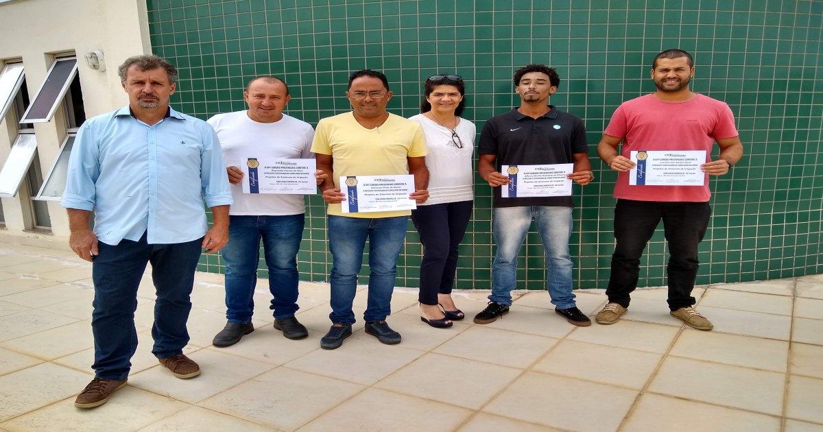 36º Curso de Projetos de Sistemas de Irrigação 08-04-19