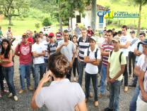 Visita dos alunos da Univiçosa à Fazenda Escola CPT - Fevereiro 2013