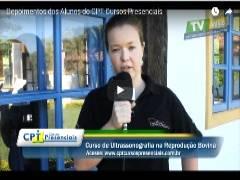 Depoimento da Aluna do CPT Cursos Presenciais- Gianni - Rio Grande do Sul - RS