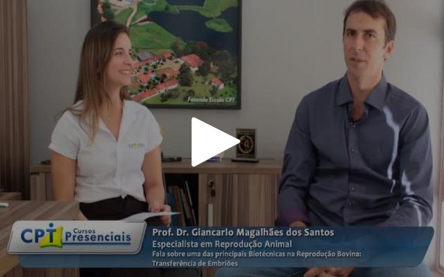 Entrevista Exclusiva sobre Transferência de Embriões em Bovinos com o Prof. Dr. Giancarlo Magalhães dos Santos
